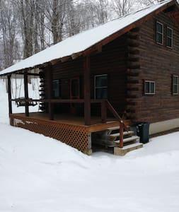 """The Cabin at Snowmist Farm"""
