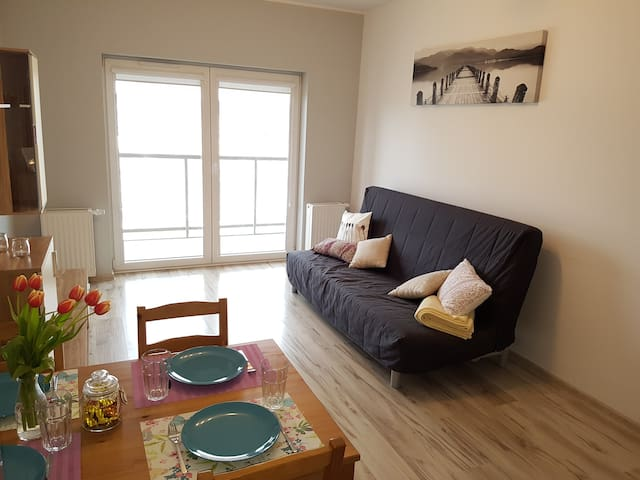 Cosy apartment, 20 minutes walk to seaside