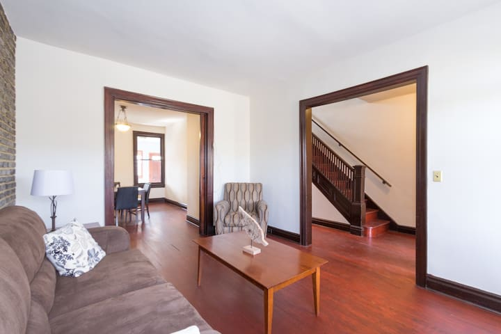 Beautiful 3bed/2bath Rowhouse with Parking - 華盛頓 - 獨棟
