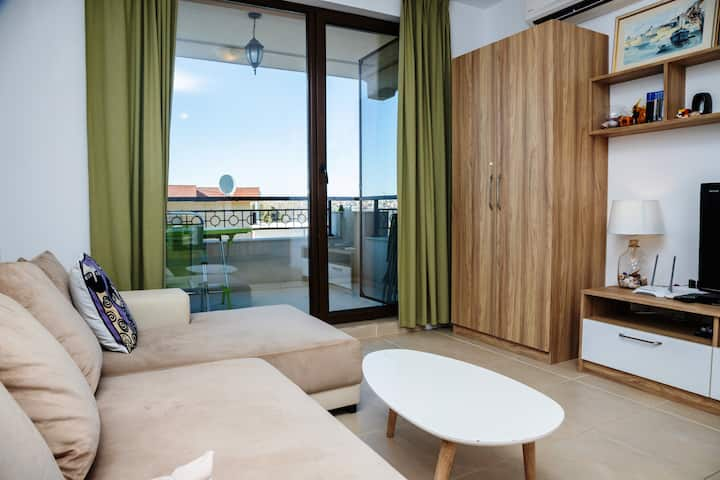 ☀︎ Green Life One-Bedroom with Sea View ☀︎