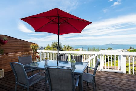 Panoramic Seaview 1-Bedroom Home - Auckland - Hus