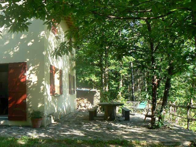 maison en pleine nature dans les cevennes - Les Plantiers