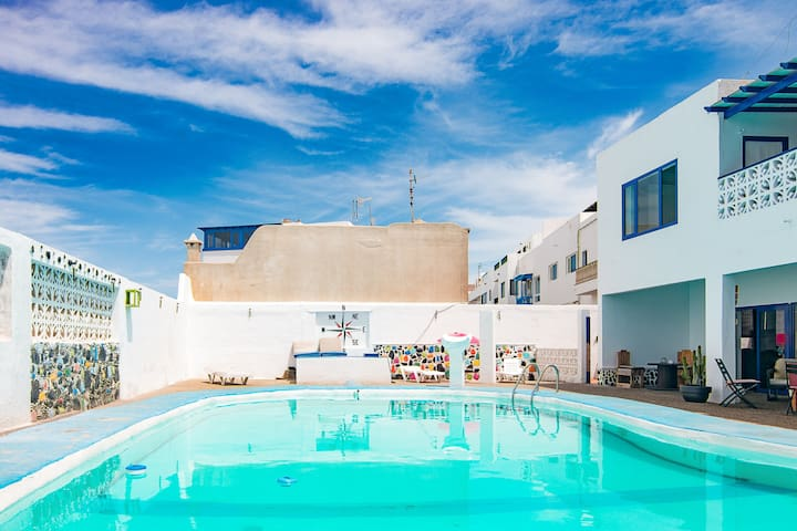 Lanzarote, La Santa House compartida, Cama 3.