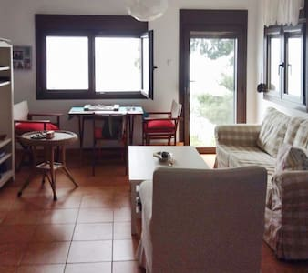 Sunny apartment w/ beach access - Moles Kalives - Byt