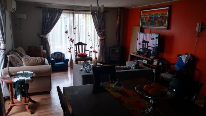 Habitación en casa familiar en Rengo