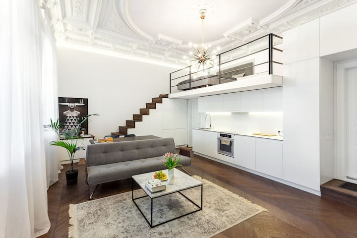 Unique Design Brand New Apartment in Old Town