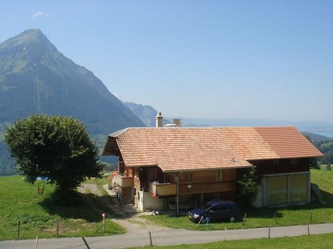 Charming chalet with a beautiful view