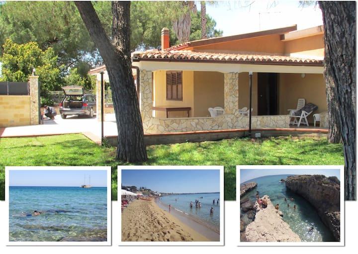 Splendida Villa Carmela a 800mt dal mare Arenella