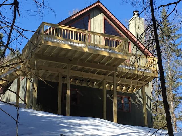 Charming all season home in the woods - Peru VT