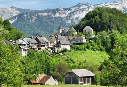 Maison de village au coeur des Bauges - Le Chatelard - Domek gościnny