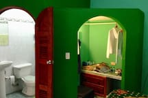 """The """"Green room"""""""