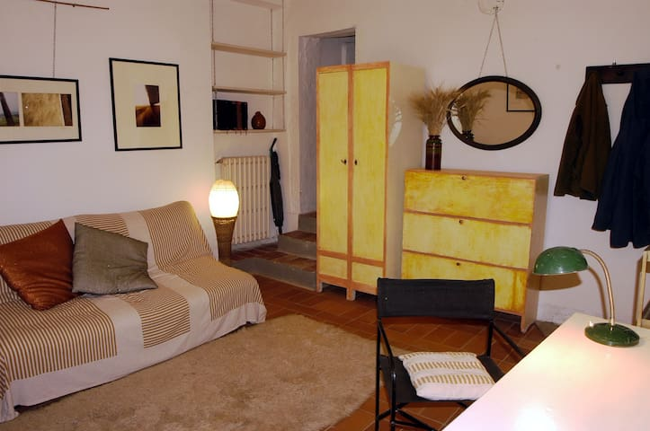 Cosy country flat in the vineyards near Florence - San Casciano in Val di pesa - Leilighet