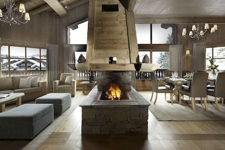 VIP Chalet w Pool,Ski IN/Out - Lech - Hus