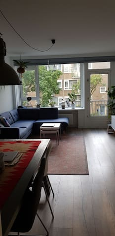 Nice appartment with two bedrooms in A'dam West