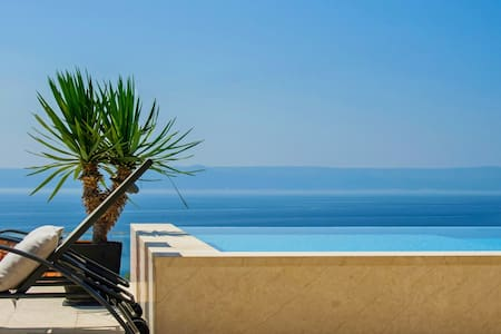 Lovely villa with pool and magnificent sea view - Selca