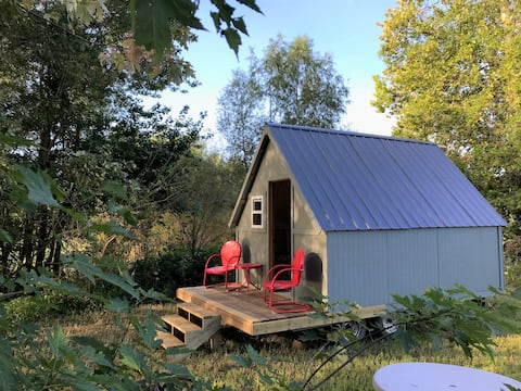 Social Distance in a Secluded Camp Cottage