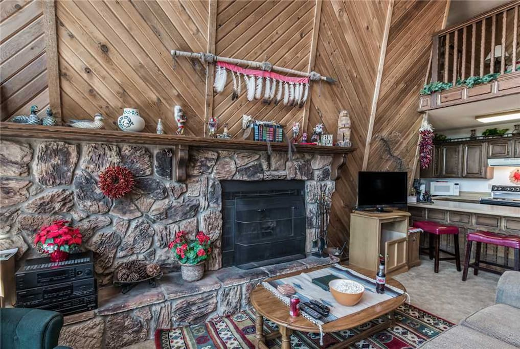 Keep Warm - Ruidoso was made for fireplaces. Throw in a few pine logs, light it up, kick back, and relax!