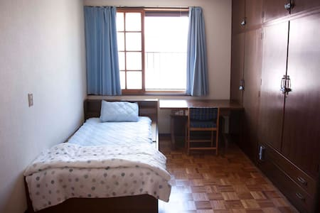 Blue door gusthouse 蓝门之家 Single bed room - Imabari-shi - Outros
