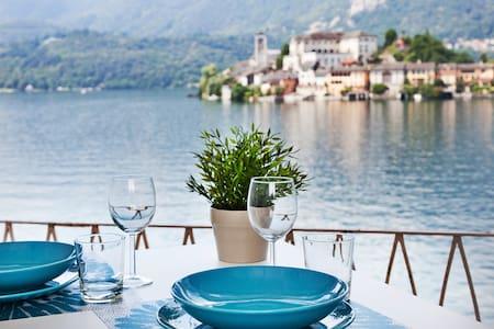 GLI ARCHI. Amazing lake view! - Orta San Giulio - Apartment