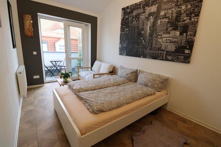 Zimmer mit Dachterrasse in Löbtau nahe Zentrum/Uni