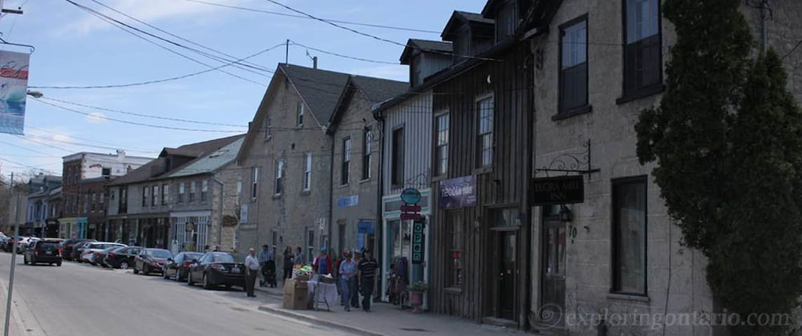 Pet Friendly Private Apt. Suite in Downtown Elora