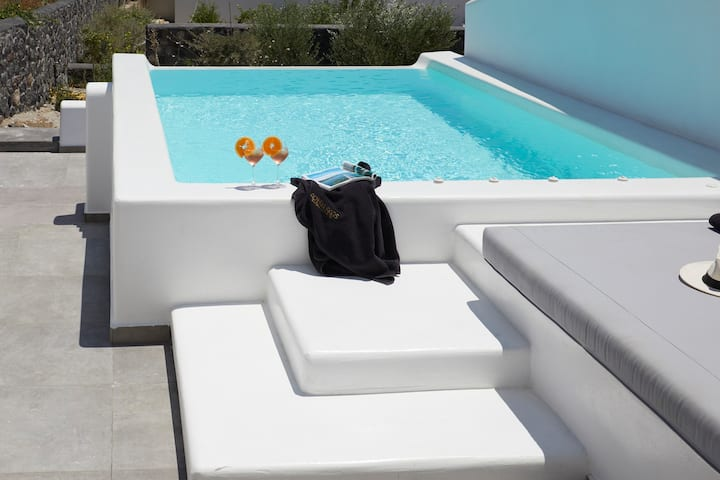 Executive Suite with heated private plunge pool