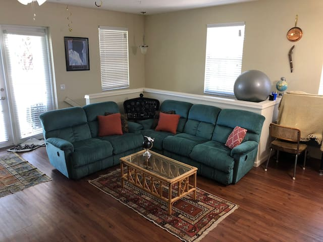 Cozy Private Room for families up to 4 people