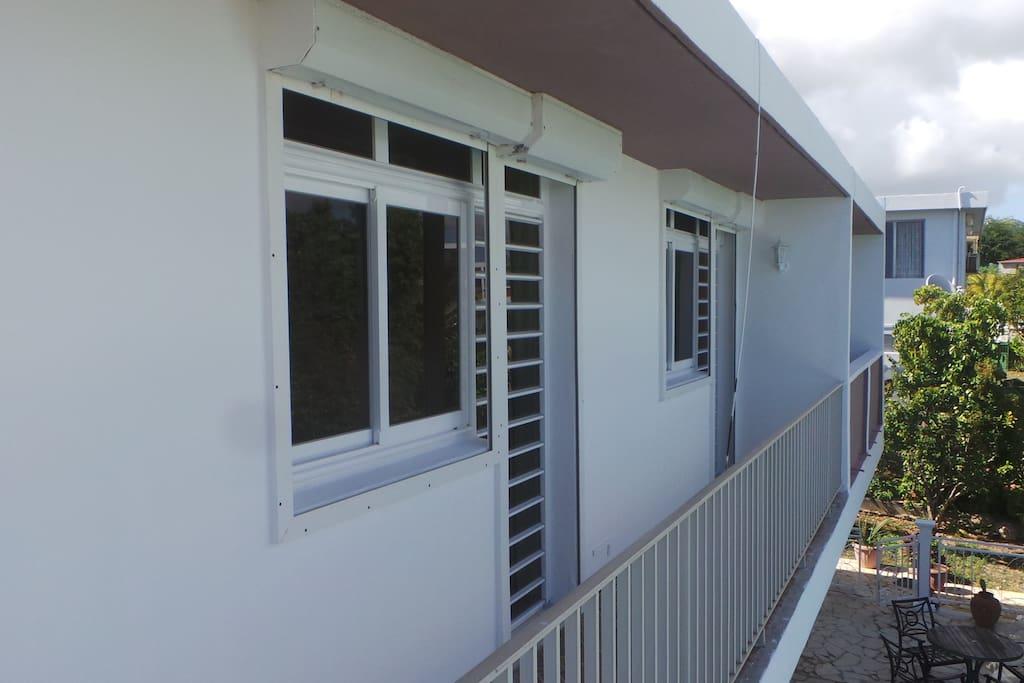 Balcons chambres