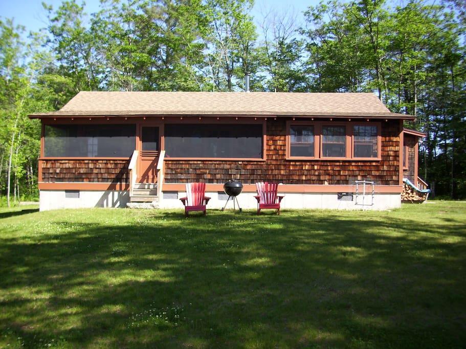 Front Porch & Kitchen