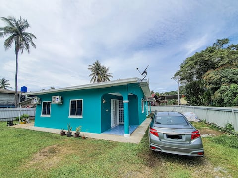5 Minutes to Town @ Labuan. 3 Rooms Cozy Home