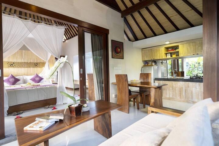 Ubud Secluded 1 Bedroom Luxury Private Pool Villa