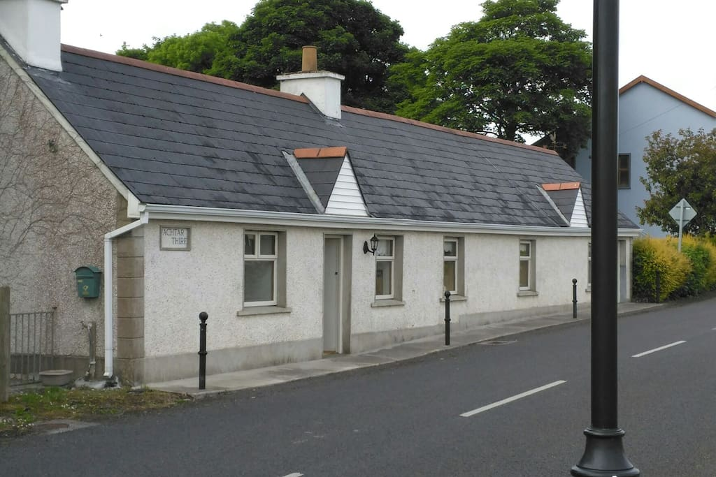 Road Side Cottage in Village.