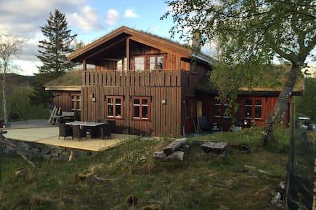 Villmarkshus på naturtomt - Frosta - Ev