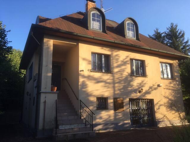 Beautiful villa close to Krivoklat castle