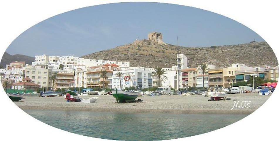 apartamento en primera linea playa - Castell de Ferro - Selveierleilighet