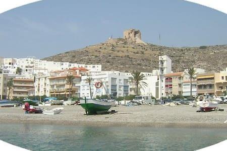 apartamento en primera linea playa - Castell de Ferro - Kondominium