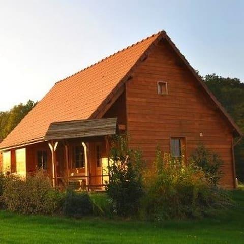 Maison bois 8 personnes