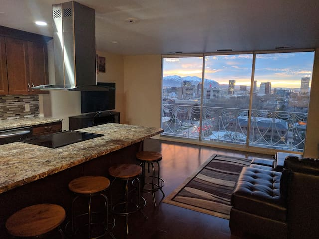 Luxury Downtown Salt Lake Condo with View - Salt Lake City - Wohnung