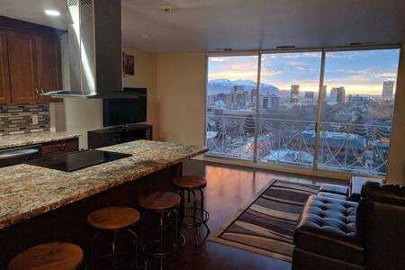 Luxury Downtown Salt Lake Condo with View - Salt Lake City - Condomínio