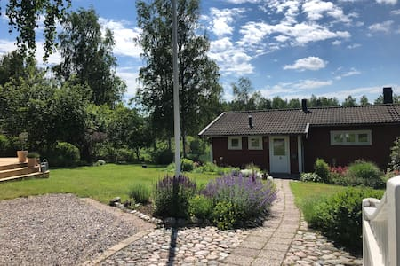 Peaceful  good standard house 300 m from the lake