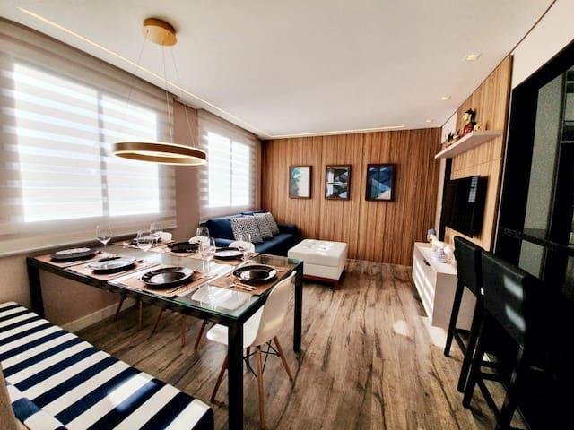 Lindo apartamento mobiliado no Batel!!!