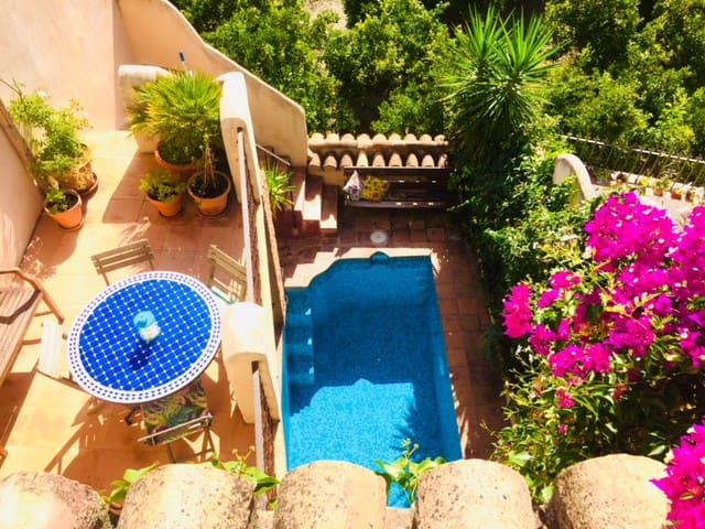 Romantic, Moorish house, pool, terraces nr Granada
