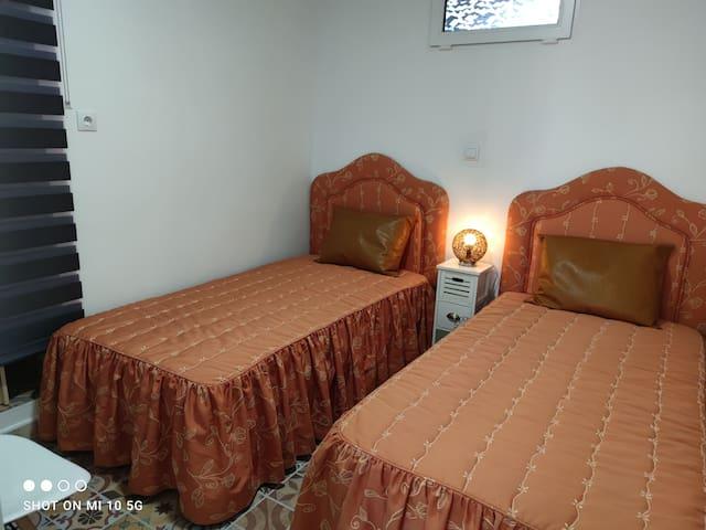 Dormitorio 2 con dos camas individuales