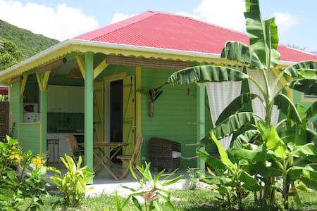 Citron Vert, bungalow créole proche de la plage ! - Capesterre-de-Marie-Galante