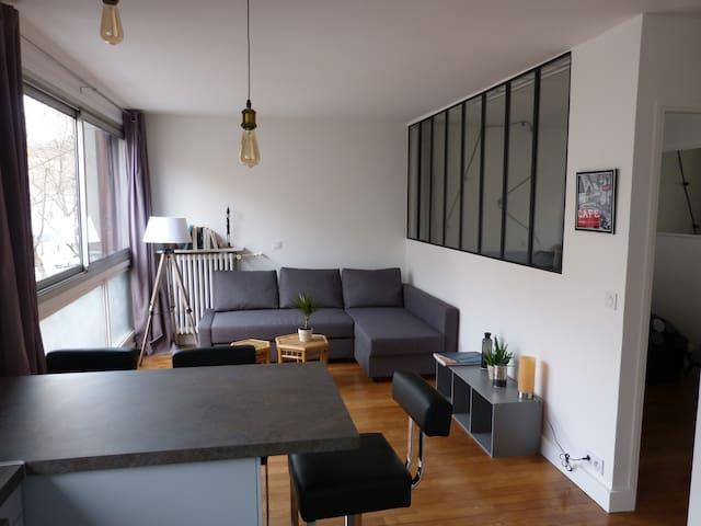 2 pièces refait à neuf à Alésia 35 m2 - Paris - Apartemen