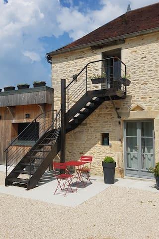 B&B La Villa des Chouettes - Maisons-lès-Chaource - Bed & Breakfast