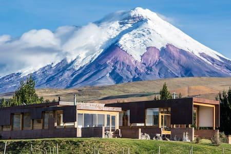 Spectacular Villa & horse riding Cotopaxi Ecuador