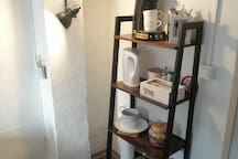 Senseo Kaffeeautomat, Wasserkocher, Kaffeepads , Tee, Milch etc....