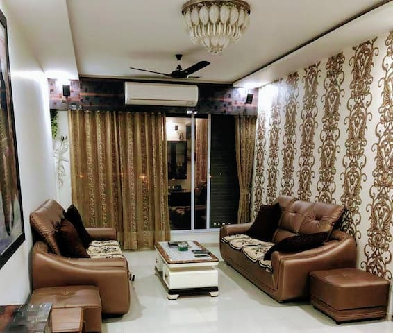 BLISS 7;2BHK SERVICED APT NEAR NESCO, MINDSPACE