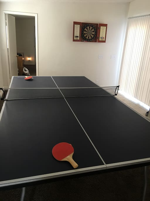 Ping Pong table/Darts